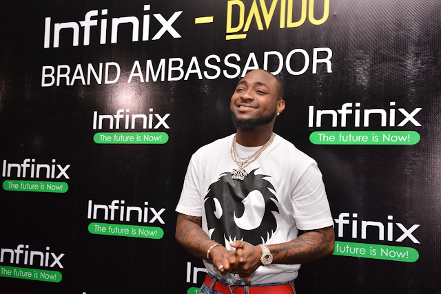 A collaboration of premium entities ? Infinix Mobility Limited signs celebrity music artiste, Davido as brand ambassador