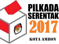 Hasil Penghitungan Cepat / Quick Count Pilwalkot Kota Ambon 2017