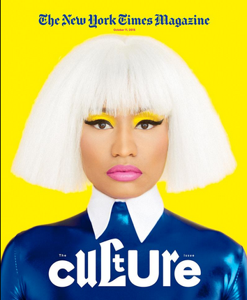 Nicki Minaj New York times interview