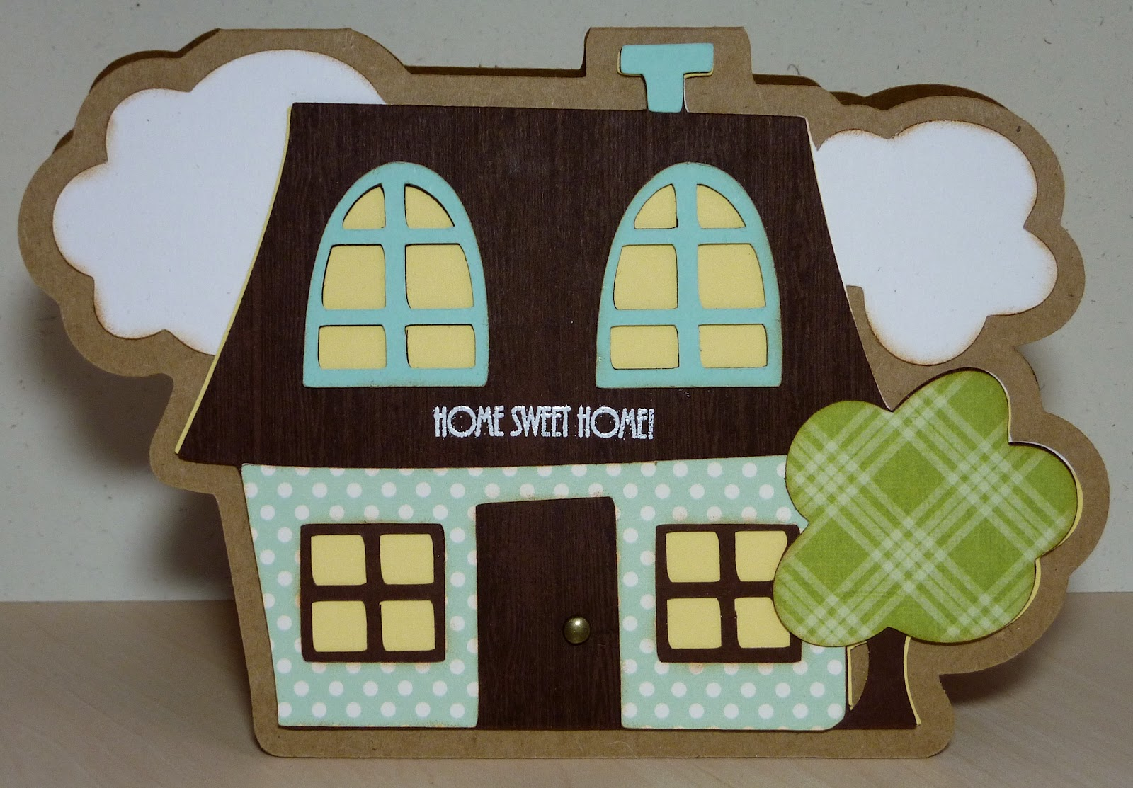 Crafting With Katie Wild Card 2 House Card With Video