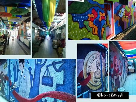 Mural di Pasar Cihapit