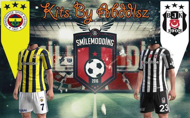 Beşiktaş 2017/18 Kit PES 2013