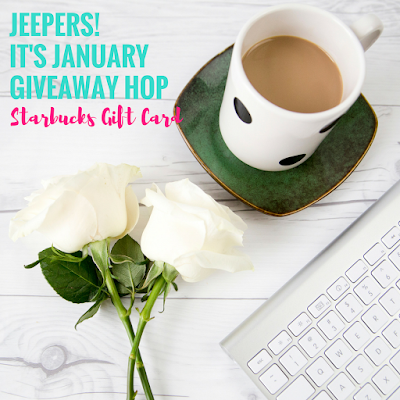 Jeepers! It's January {Starbucks GC}