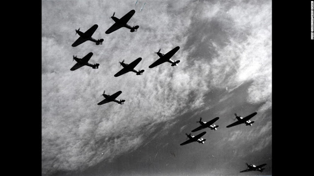 17 July 1940 worldwartwo.filminspector.com Hawker Hurricanes
