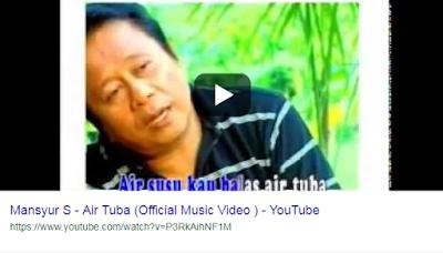 Download Lagu Mansyur S-Lagu Mansyur S Air Tuba-Download Lagu Mansyur S Air Tuba mp3 Gratis