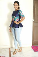 Eesha Looks super cute stunning in Denim Jeans and Top at Darsakudu movie Inerview ~  Exclusive 008.JPG