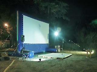 noleggio schermo cinema Livorno Grosseto