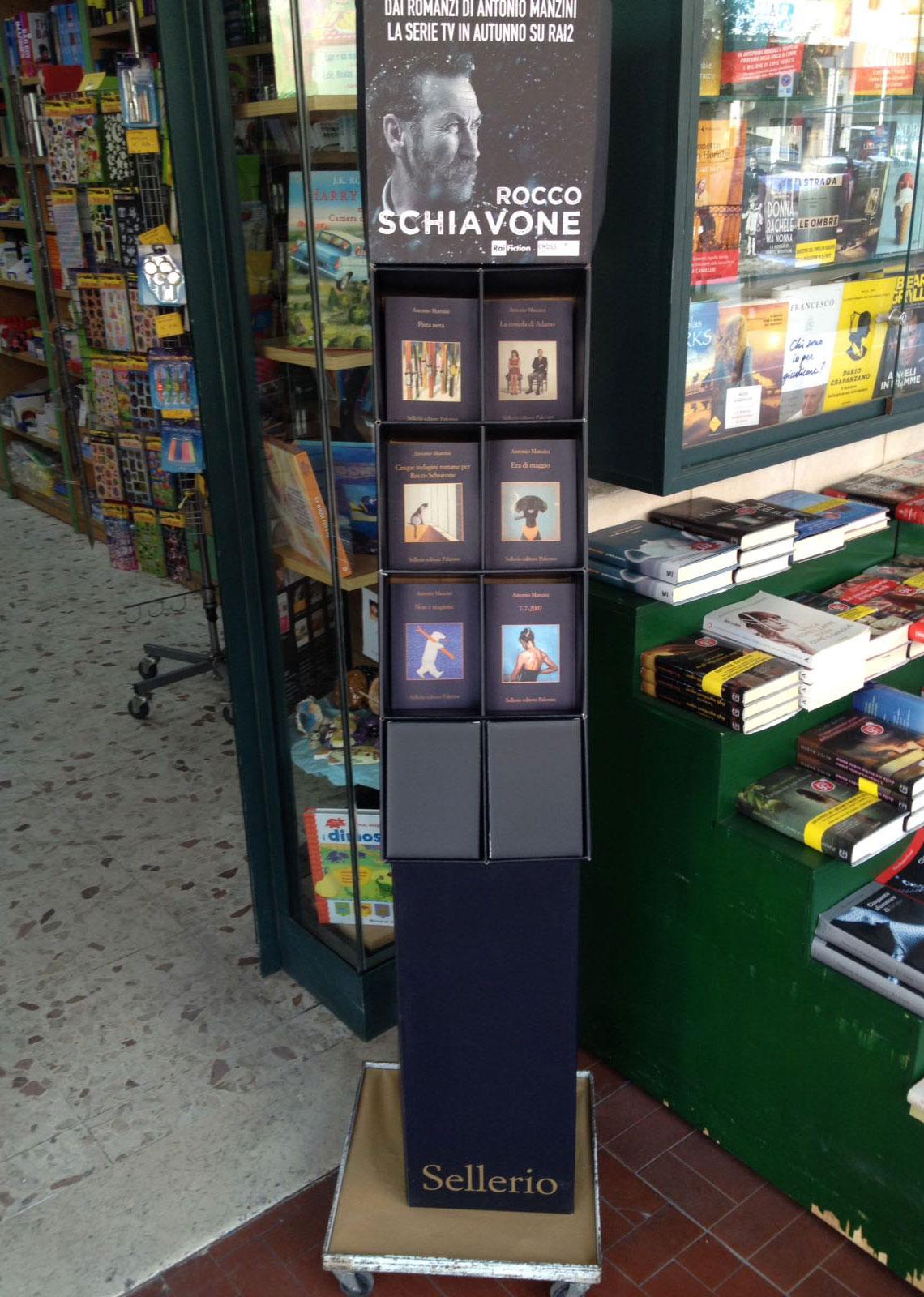 Le Librerie Massimo Mazzali promuovono Manzini, Sellerio