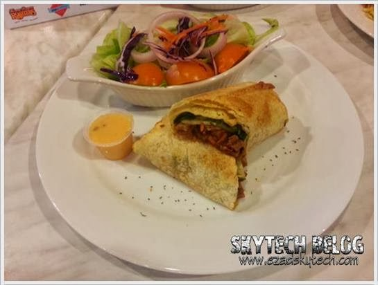 Kenny Rogers - Lamb Tortilla Wrap Meal