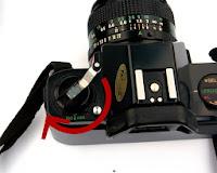 Tuas rewind Canon T50