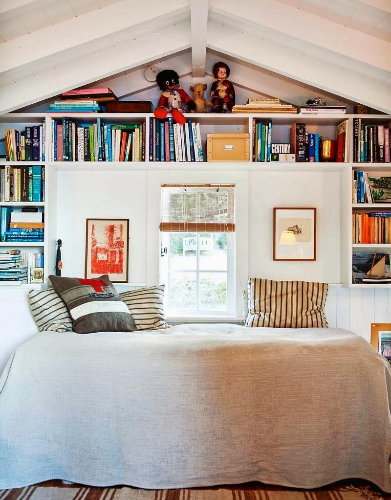 Domek przy plaży w Nowej Zelandii, wystrój wnętrz, wnętrza, urządzanie domu, dekoracje wnętrz, aranżacja wnętrz, inspiracje wnętrz,interior design , dom i wnętrze, aranżacja mieszkania, modne wnętrza, domek wakacyjny, dom nad morzem, sypialnia
