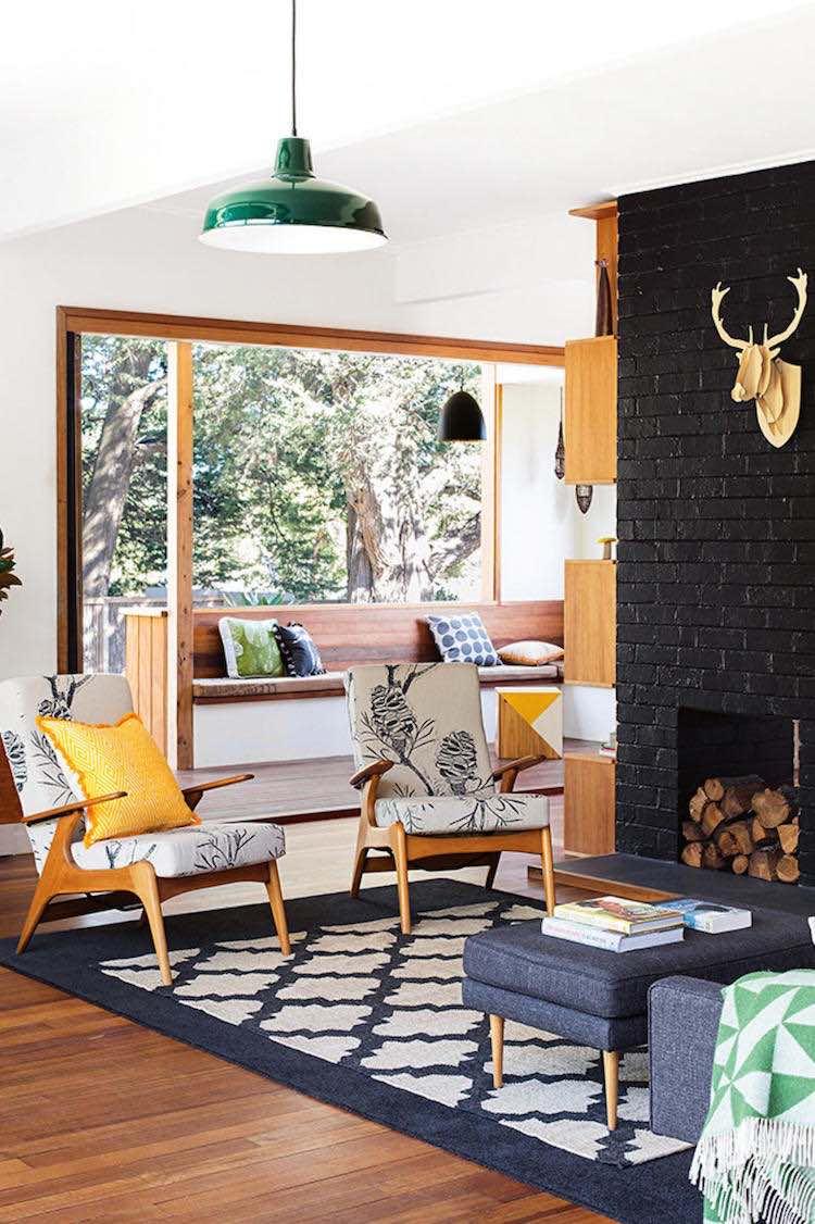 chic style en una casa de campo sostenible
