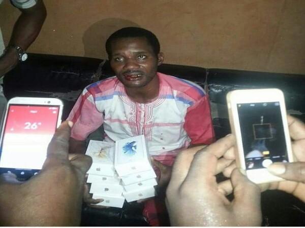 seun egbegbe steal 9 iphones