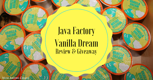 Java Factory Vanilla Dream, review, giveaways, breakfast, coffee maker