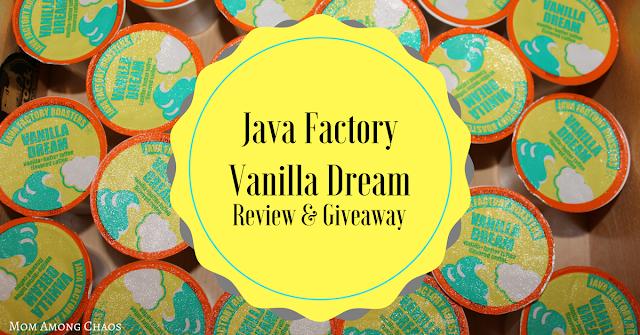 Java Factory Vanilla Dream, review, giveaways, breakfast, coffee maker