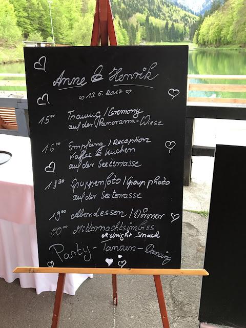 Time Line Tafel, Hochzeit, Instagram und Social Media, heiraten in Garmisch, Riessersee Hotel, Bayern, Berghochzeit, Natur, See, Mai