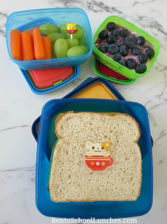 Fit & Fresh Leak Proof Lunch Set Review. A fun and easy lunch