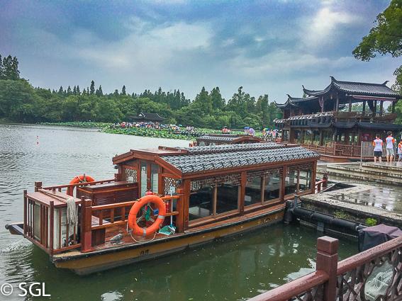 Hangzhou y el lago del oeste. Un dia en hangzhou