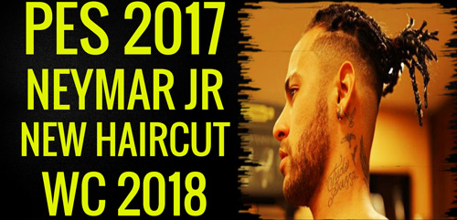 PES 2017 Neymar Jr Face New Haircut 2018