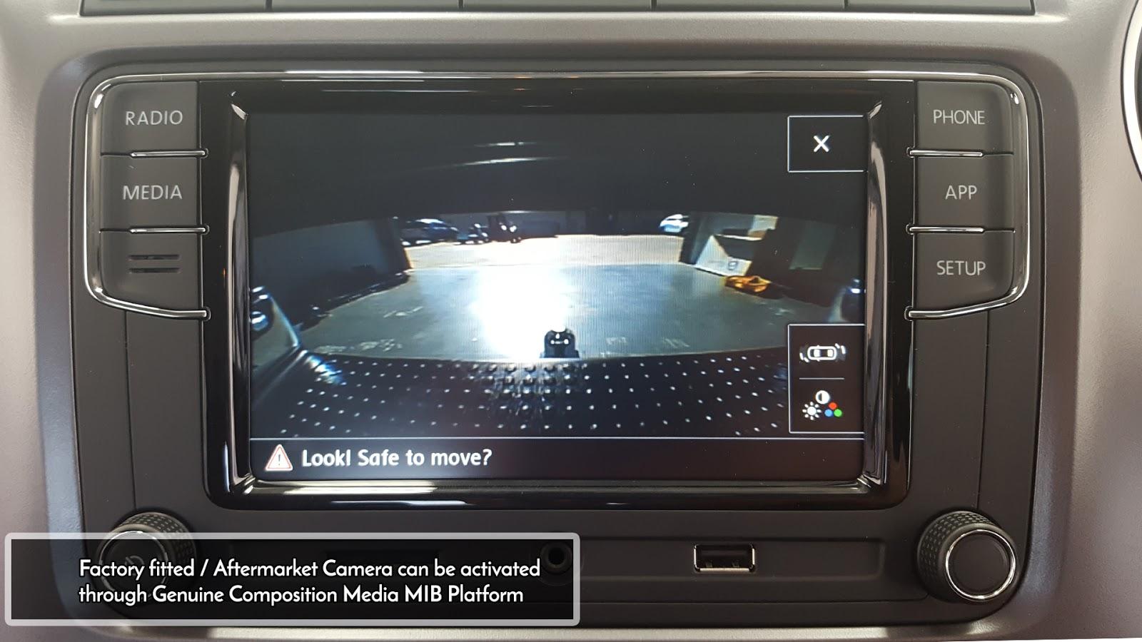 Volkswagen OEM RCD330 - Apple Carplay integrated replacement headunit