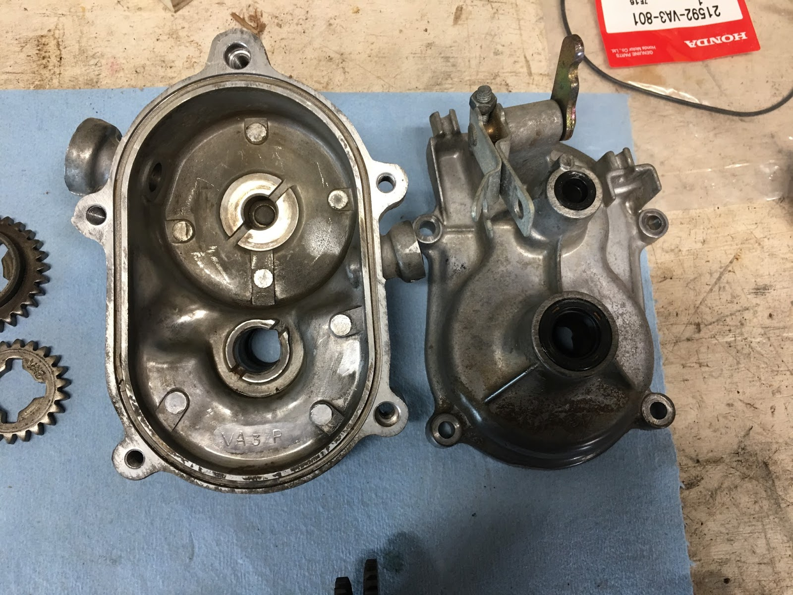 small resolution of inspect the parts for anything broken but you probably won t find anything amiss my transmission just needed to be lubricated the driven clutch was