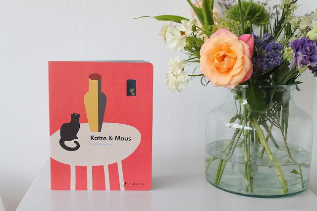 KAtze und Maus Britta Teckentrupp Liebe Pappbilderbuch Buchtipp Jules kleines Freudenhaus