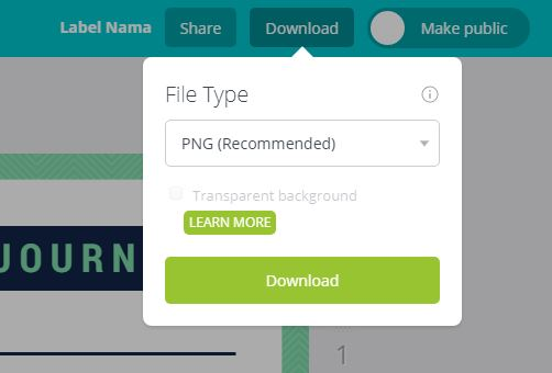 download file label nama