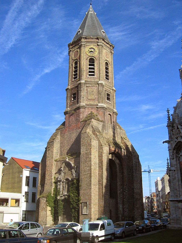 10 Best Places to Holiday in Belgium (100+ Photos) | The Peperbusse – local name for an old church tower from a burned down church