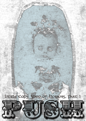 Victorian post-mortem photo of a baby