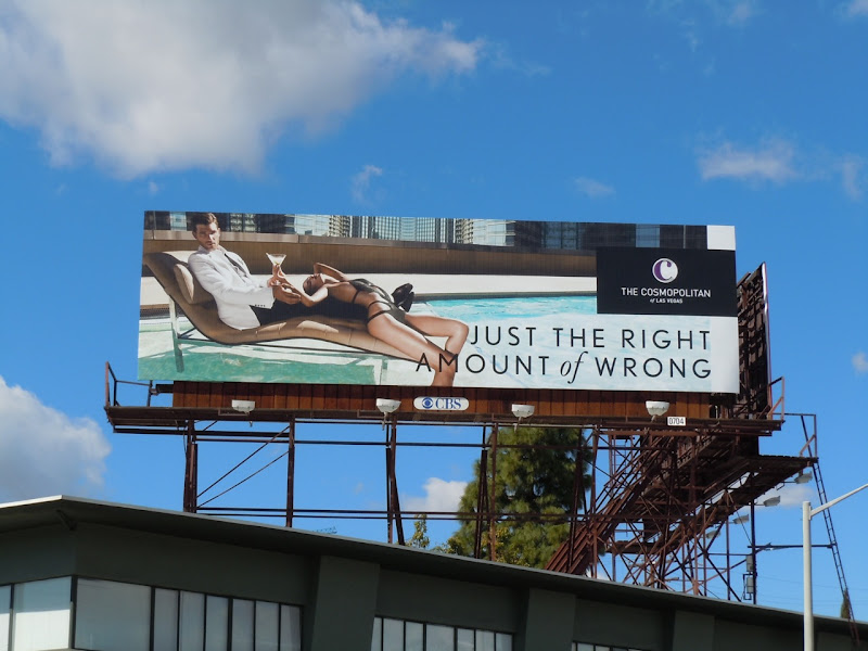 Cosmopolitan hotel Las Vegas billboard
