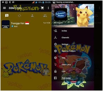 BBM MOD Tema Pokemon GOBase 3.0.0.18 Apk