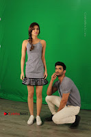 Kriti Sanon & Sushant Singh Rajput Pos During Promotional Interview For Raabta .COM 0017.jpg
