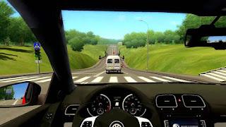 طريقة لعب لعبة city car driving