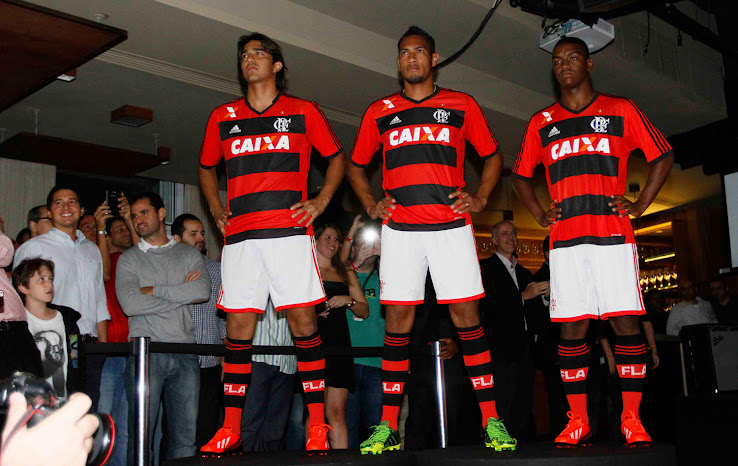 5980b6b822f Flamengo 2013 Home Kit. These pics show the new Flamengo 13-14 Home Kit by  adidas.
