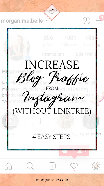 increase blog traffic from instagram for pinterest