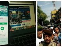 Polisi Usir Sekelompok Orang Diduga 'Ber-Tamasya Al Maidah' di TPS 05