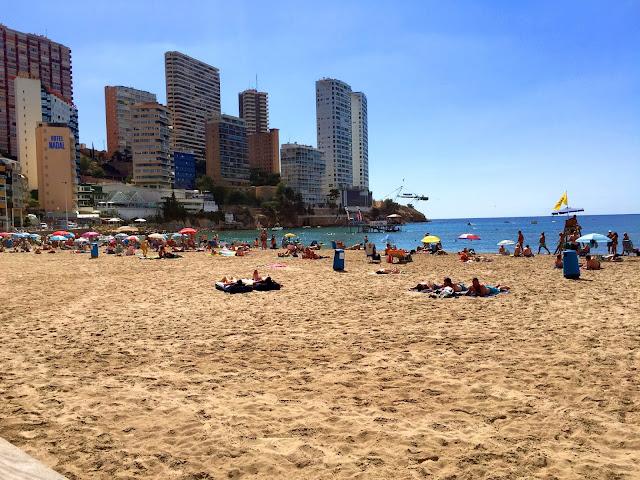 Benidorm, plaża