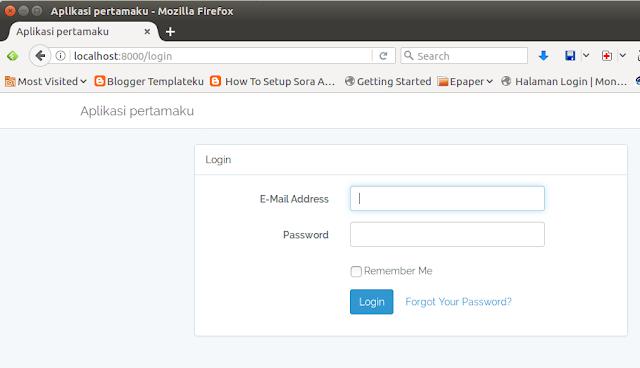 Cara Mengganti Nama Aplikasi Di Laravel 5.4 | panduan ...
