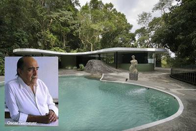 Oscar Niemeyer y Casa das Canoas