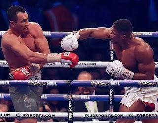 Heavyweight champion Anthony Joshua and Tyson