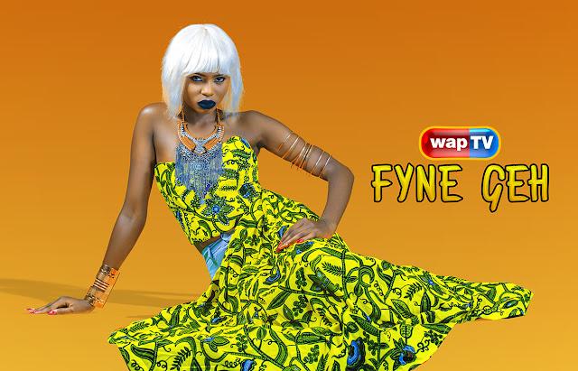 wapTV debuts new presenter named ?FYNE GEH?