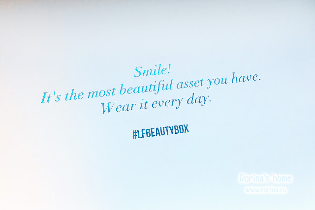 Smile! It's the most beautiful asset you have. Wear it every day.