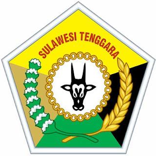 gambar logo provinsi sulawesi Tenggara pada daftar kabupaten di provinsi sulawesi Tenggara