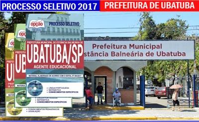 Concurso Prefeitura de Ubatuba 2017