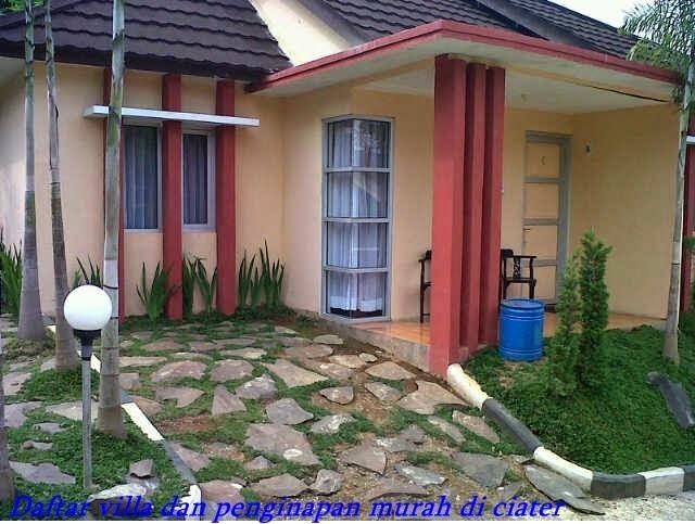 fasilitas yang sederhana di villa
