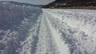 Зимник на Байкале