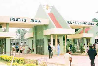 Rufus Giwa Poly Post UTME Form