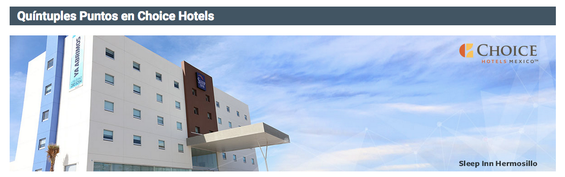 Aeromexico Club Premier 5x Points For Stays At Choice Hotels Worldwide