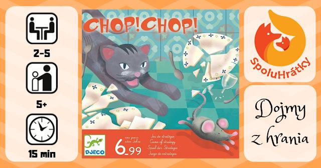 Recenzia hry Chop! Chop! na blogu www.spoluhratky.eu