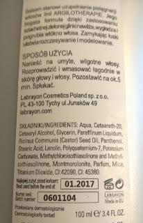LABRAYON LABORATOIRES ARGILO THÉRAPIE Balsam z portugalskiej zielonej glinki